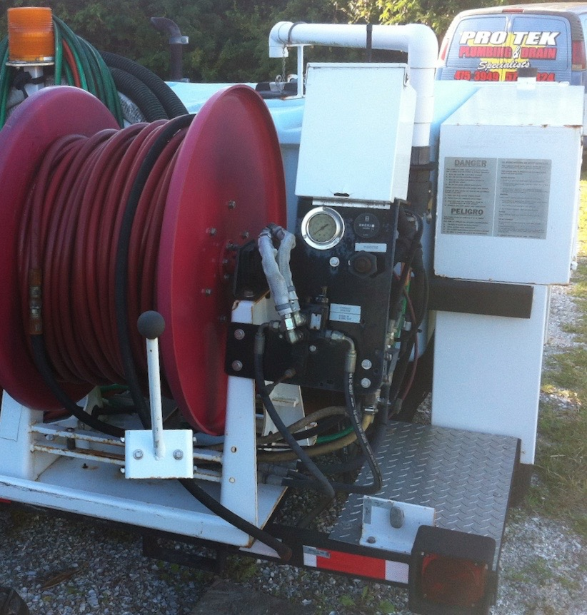 Hydro Jet Drain Cleaning High Pressure Sewer Jetting