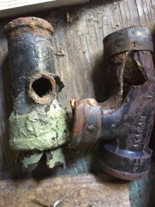cast iron plumbing problems